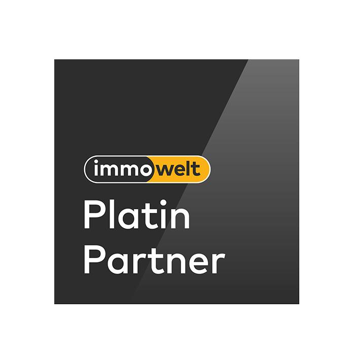 Immowelt Platin Partner Logo 2020 Eurich Immobilien Immobilienmakler in Stuttgart